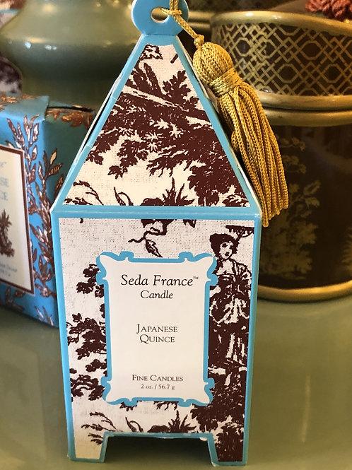 2oz Fine Candle SedaFrance Japanese Quince