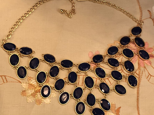 Costume Jewelry - Necklace, Royal Blue