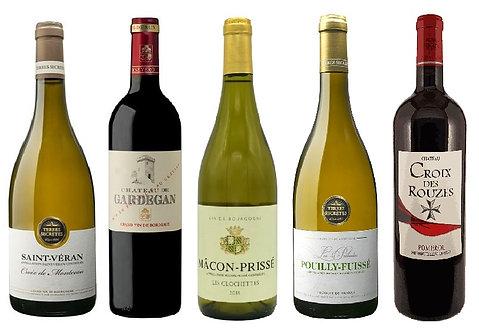 Mixed Case - Burgundy & Claret