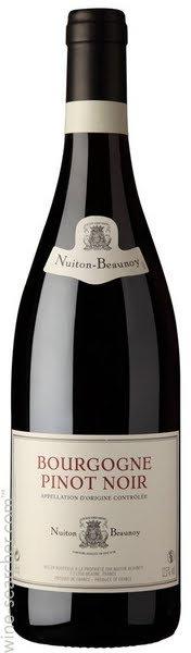 Nuiton-Beaunoy Bourgogne Pinot Noir 2015