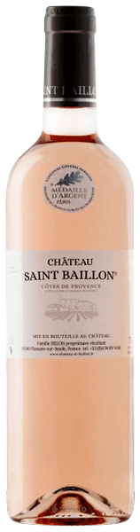 Reserve du Château St Baillon, Côtes de Provence Rosé 2019