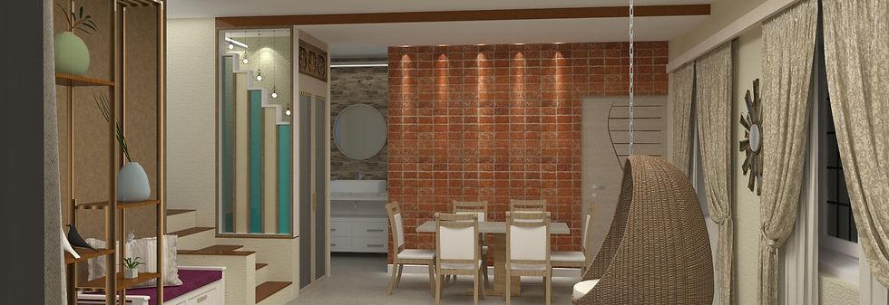 Interior design for residence