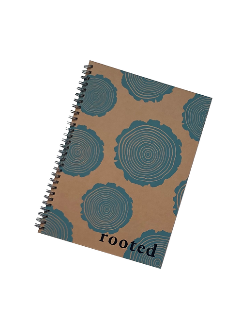 Rooted Recycled Notebook