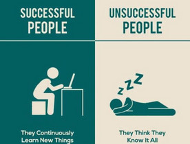 成功人士和非成功人士之間的分別