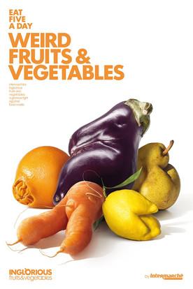 食得唔好嘥 「畸型」水果有市場
