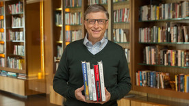 Bill Gates是如何「睇書」的?