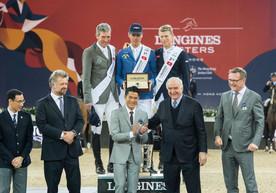 德國騎手稱冠浪琴表香港馬術大師賽
