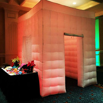 Inflatable Photo Booth with LED uplighting
