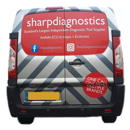 sharp van rear .jpg