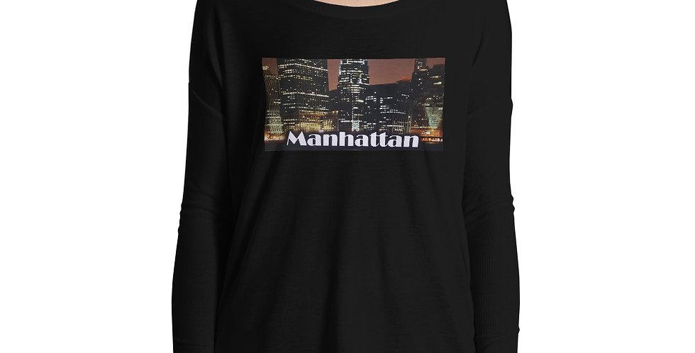 Manhattan Ladies' Long Sleeve Tee