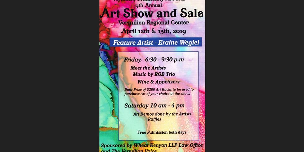 2019 Vermilion Community Art Club Art Show and Sale (9th annual)