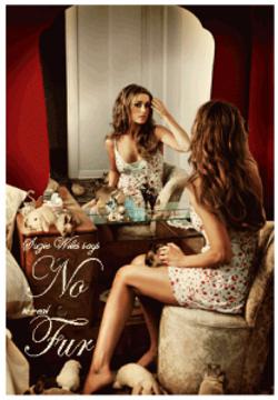 Poster: Say NO To Fur