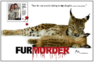 Poster and Brochure: Fur is Murder