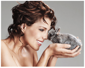 Poster - Cosmetics without cruelty
