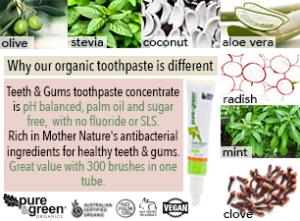 Pure & Green Organics (v)