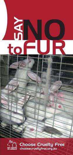 Say No to Fur Brochure 2018