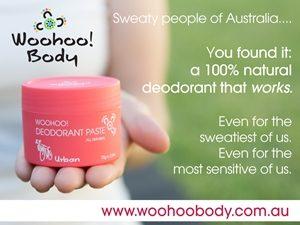 Woohoo! Natural Deodorant (v)