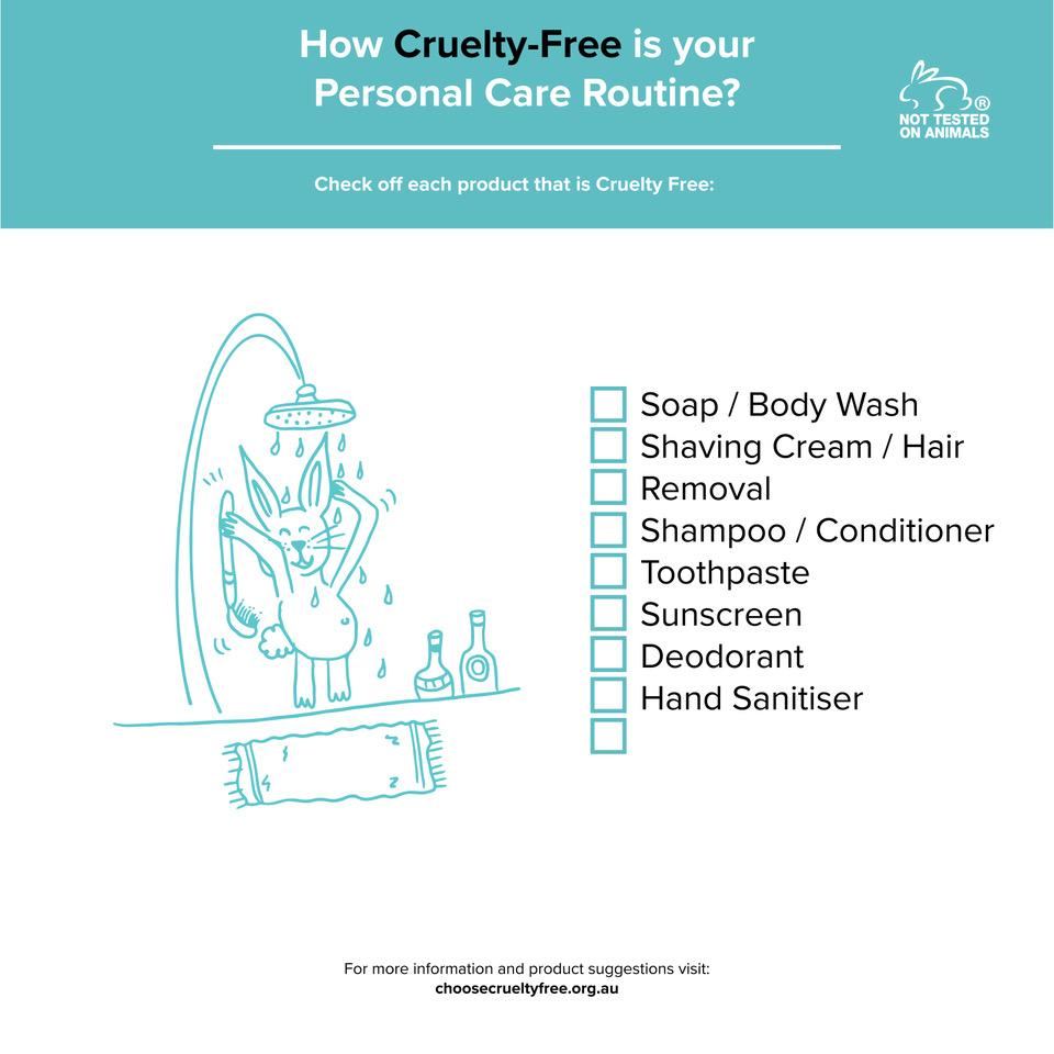 Personal Care Routine Checklist