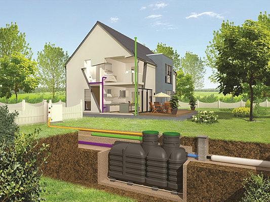 fosse septique installers microstation installers suppliers. Black Bedroom Furniture Sets. Home Design Ideas
