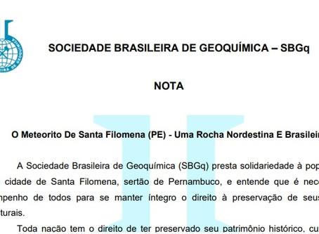 O Meteorito De Santa Filomena (PE) - Uma Rocha Nordestina E Brasileira