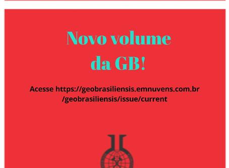 Geochimica Brasiliensis Vol 34 No 1 (2020)