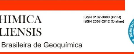 Volume Especial Geochimica Brasiliensis - SBGq 35 ANOS
