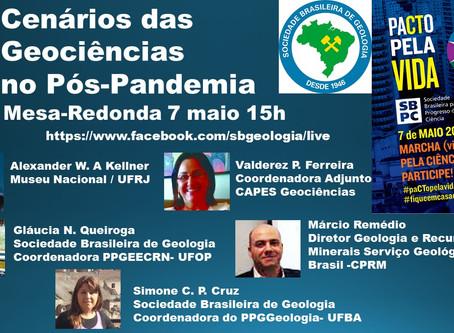 LIVE! Cenários das Geociências no Pós-Pandemia