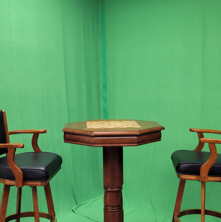 TWO CHAIRS GREEN SCREEN