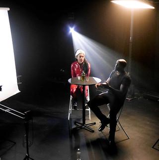 GERMAIN music video shoot behind the scenes