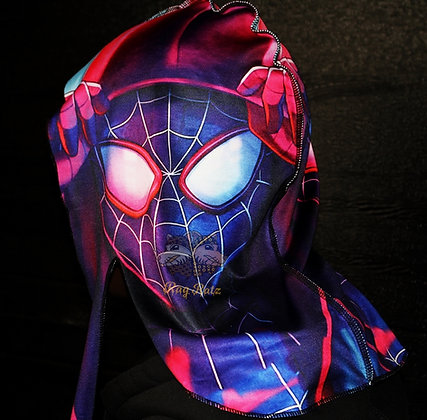"""Hoodie-Spiderman"" Rag Ratz Du-Rag"