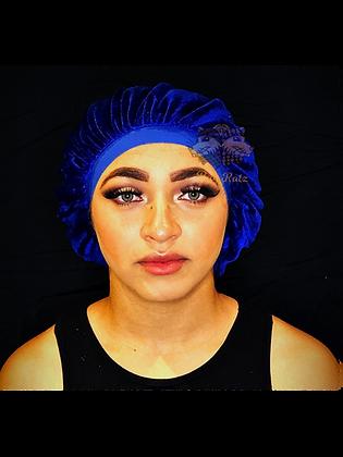 Royal Blue Rag Ratz Bonnet