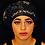 """Thumbnail: Black """"Versace"""" Rag Ratz Bonnet"""