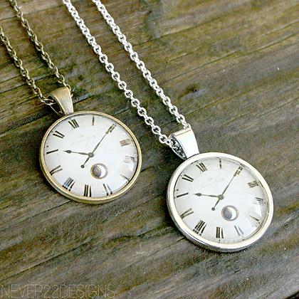Moon Phase Pocket Watch