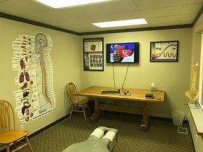 True Potenital Chiropractic Adjusting Room