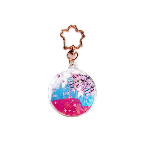 Sakura Bauble Acrylic Charm