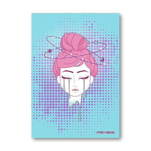 Lady Cosmic Print