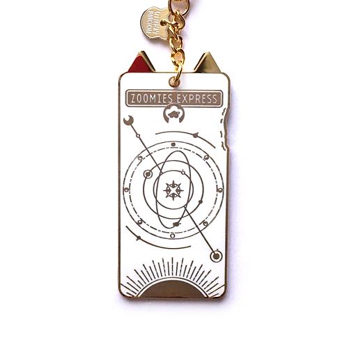 Zoomies Express Keychain