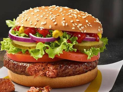 Veganer Burger bei McDonalds