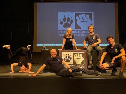 Das SOKO Team war auf der diesjährigen International Animal Righs Conference in Luxenburg.