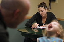 supervised visit exchange monitor parent and child on a family visit court ordered parenting time