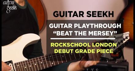 Guitar Playthrough Beat The Mersey