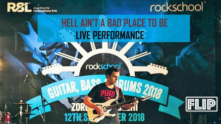 ACDC Live cover Rahul Sharma