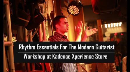 Rhythm Essentials workshop