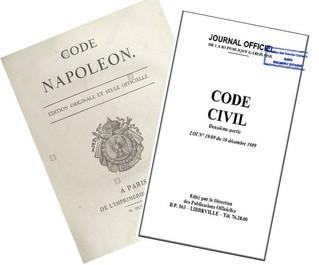 """LE """" CODE NAPOLÉON DE 1804 """" - POURQUOI EST-IL TOUJOURS EN VIGUEUR AU GABON ?"""