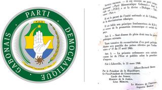 NOTE D'HISTOIRE - Le PDG (Parti Démocratique Gabonais)