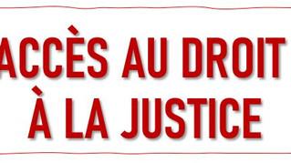 L'ACCÈS AU DROIT ET A LA JUSTICE