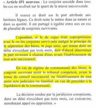 LES DÉMARCHES SUITE AU DÉCÈS DE SON ÉPOUX(SE)