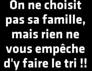 L'IMMUNITÉ FAMILIALLE