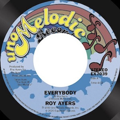 Roy Ayers / Everybody c/w And Then We Were One