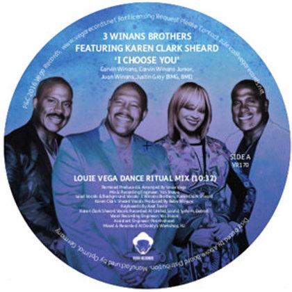 3 Winans Brothers feat.Karen Clark Sheard / I Choose You